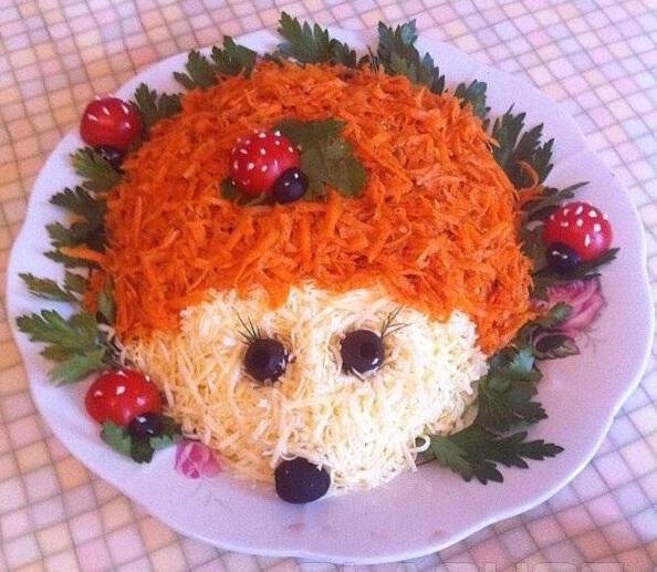 Салат на день рождения ребенка с рецепт пошаговый