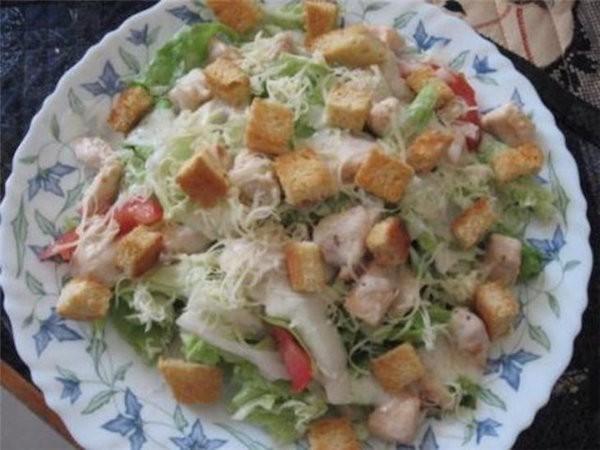 Салат с курицей рецепт с