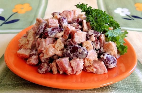 салат из красной фасоли рецепт очень вкусный