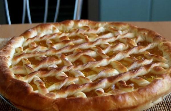 Пиріг з повидлом рецепт з