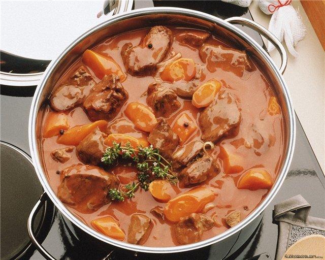 Как сделать простой суп из мяса