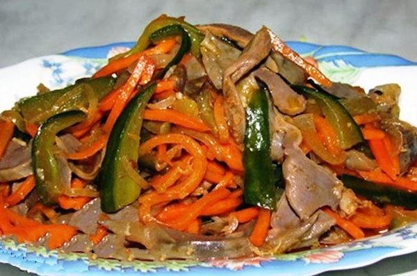 Рецепты китайский салатов