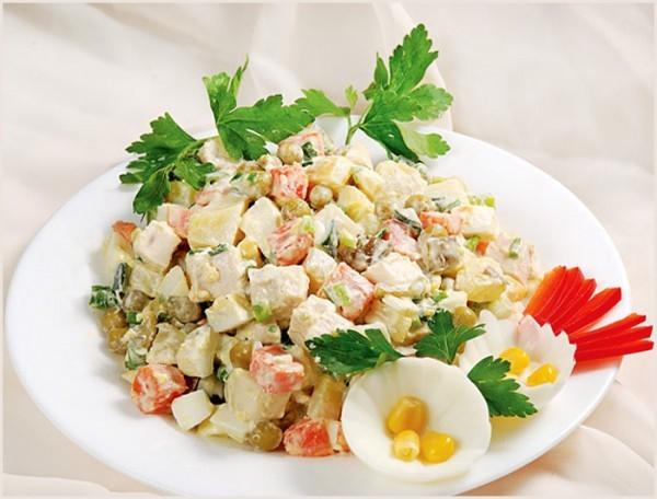Салат столичный самый вкусный рецепт
