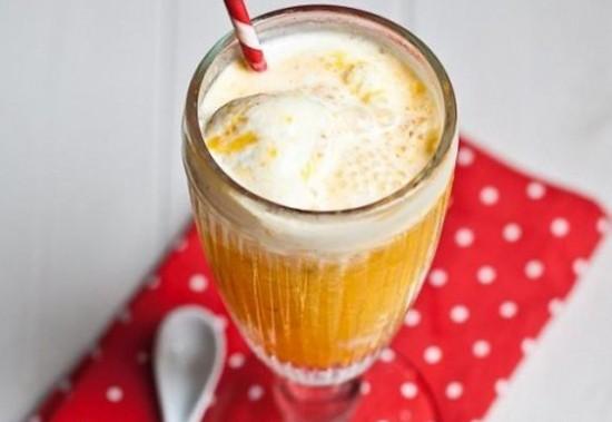 Коктейль мороженое с соком рецепт