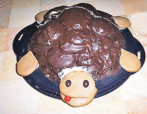 Рецепт торта черепашка в домашних условиях