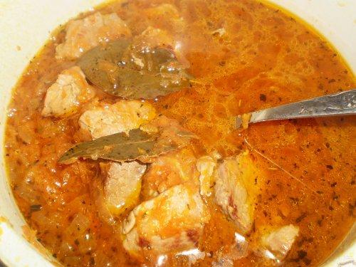 подливка со свининой рецепт с фото